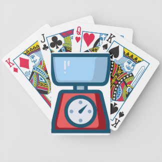 Food Scale Bicycle Playing Cards