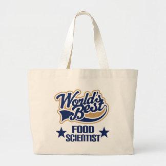 Food Scientist Gift (Worlds Best) Jumbo Tote Bag