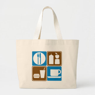 Food Services Highway Signs Collection Tote Bag