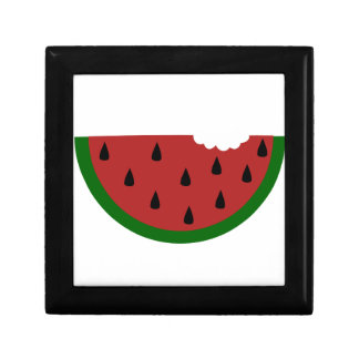 food slice fruit bitten watermelon gift box