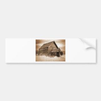 Food Storage Building ( Sepia ) Bumper Sticker