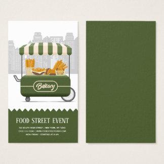 Food street bakery business card