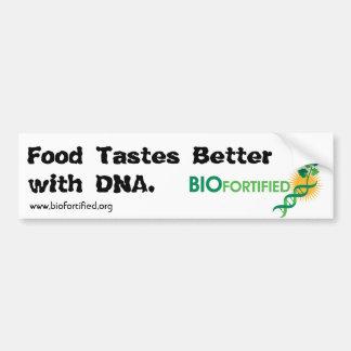 Food Tastes Better Bumper Sticker