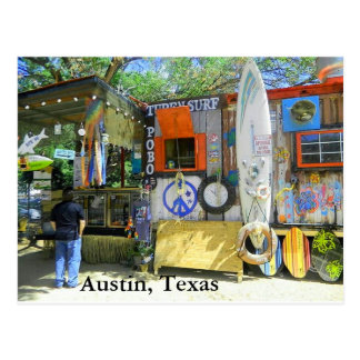 Food Truck, Austin Texas Postcard