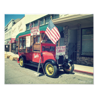 Food Truck in Placerville Photo Print
