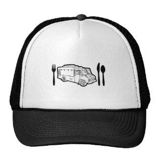 Food Truck Plate & Utensils Trucker Hat
