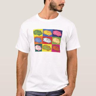 Food Truck Pop Art T-Shirt