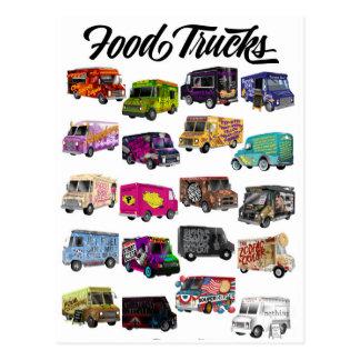 Food Truck Puns Postcard