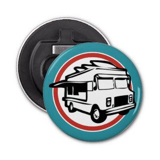 Food Truck Button Bottle Opener