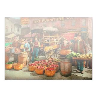 Food - Vegetables - Indianapolis Market 1908 Card