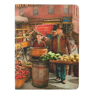Food - Vegetables - Indianapolis Market 1908 Extra Large Moleskine Notebook