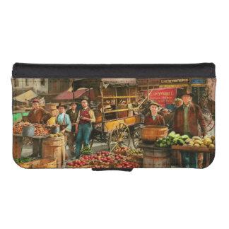 Food - Vegetables - Indianapolis Market 1908 iPhone SE/5/5s Wallet Case