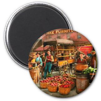 Food - Vegetables - Indianapolis Market 1908 Magnet