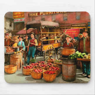 Food - Vegetables - Indianapolis Market 1908 Mouse Pad