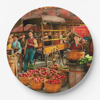 Food - Vegetables - Indianapolis Market 1908 Paper Plate