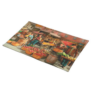Food - Vegetables - Indianapolis Market 1908 Placemat