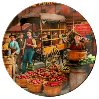 Food - Vegetables - Indianapolis Market 1908 Plate
