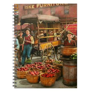 Food - Vegetables - Indianapolis Market 1908 Spiral Notebook