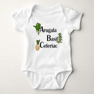 Foodie ABCs Baby Bodysuit