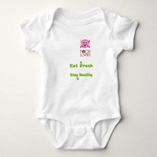 foodie baby bodysuit