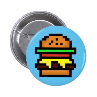 foodie-cute burger button