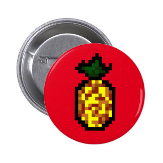 foodie-cute pineapple button