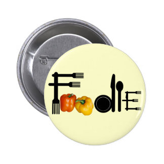 Foodie For Light Background 6 Cm Round Badge