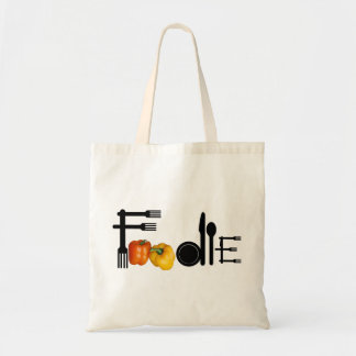 Foodie For Light Background Tote Bag