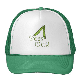 Foodie gifts Peas Out Cap