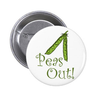 Foodie gifts Peas Out Pin