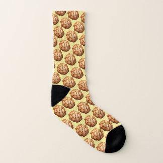 foodie sweet dessert cookie coconut macaroons socks