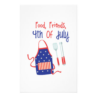 Foods Friends Fourth Stationery