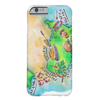 Foods of the USA Barely There iPhone 6 Case