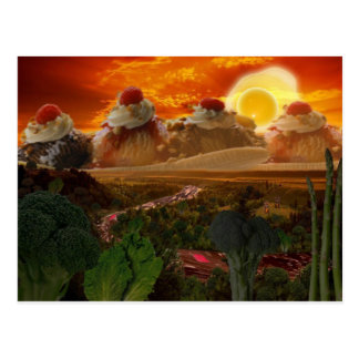 Foodscape Postcard