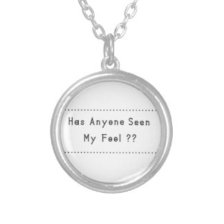 Fool Silver Plated Necklace
