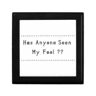 Fool Small Square Gift Box