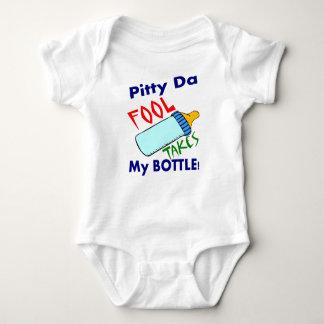 Fool Takes Bottle Baby Bodysuit