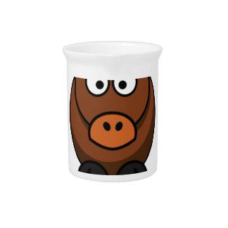 foolish donkey beverage pitcher
