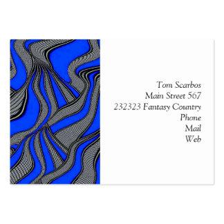 foolish movements blue business card
