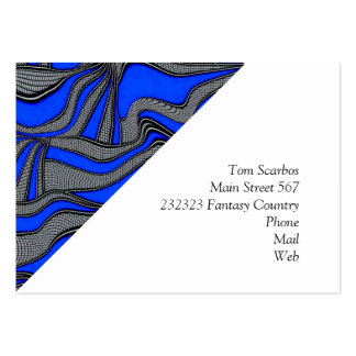 foolish movements blue business cards