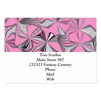 foolish movements pink effect business card templates