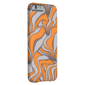 foolish movements swirl orange barely there iPhone 6 case