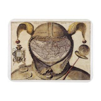 Fool's Cap World Map Magnet