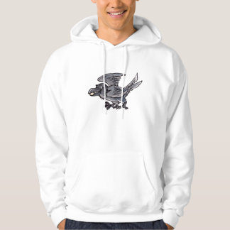 Fool's Gold Raven Hooded Sweatshirt