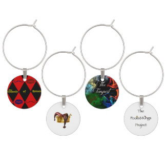 Fools & Kings Project Third Season Wine Charms