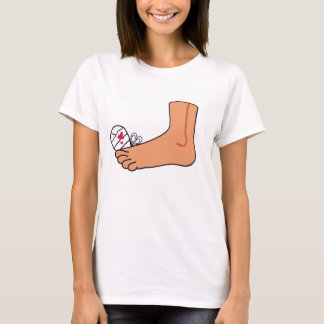 Foot-2 Broken Toe T-Shirt