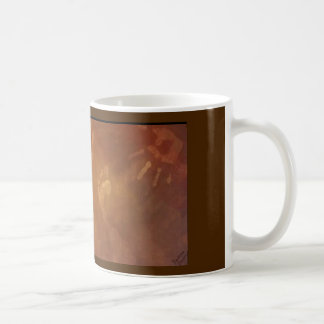 foot and hand prints coffee mug