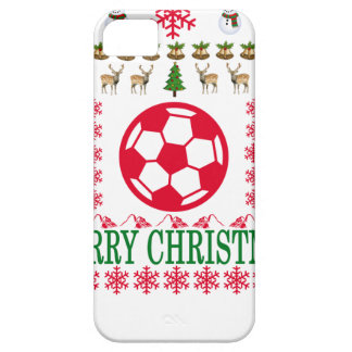 FOOT BALL MERRY CHRISTMAS . iPhone 5 CASE