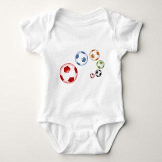 foot balls baby bodysuit
