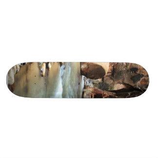 Foot Like Rock In Zion Narrows Skate Board